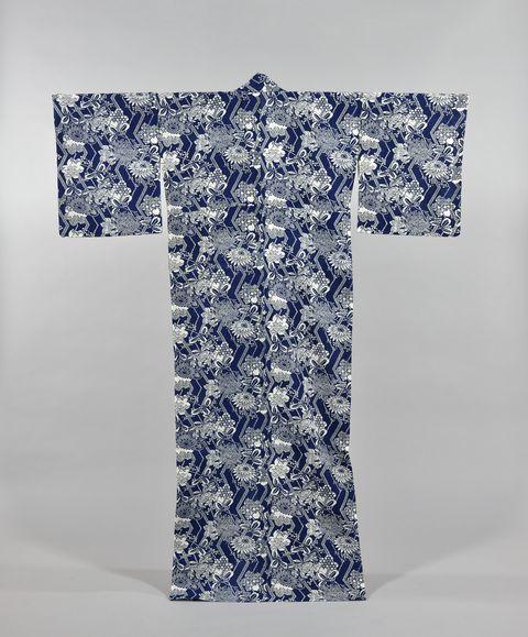 清水幸太郎 藍のファッション展 芦屋市立美術博物館