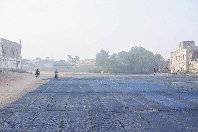 アトリエシムラ 志村宏 インド染織の旅紀行 バグルー村 藍染