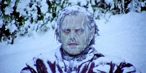 Freezing, Snow, Fiction, Fictional character, Winter storm, Blizzard, Winter, Art,