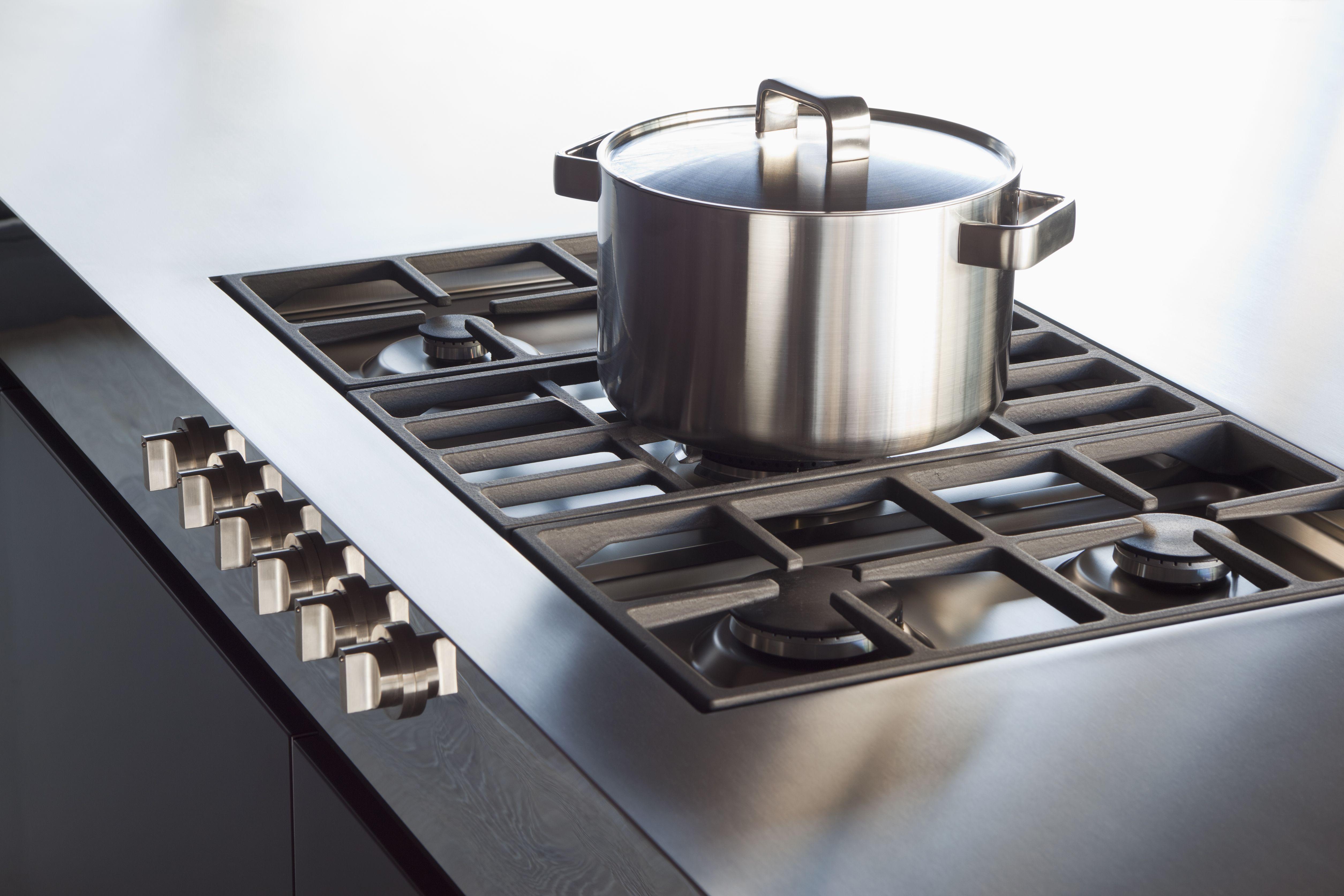 How to clean burnt milk off pan
