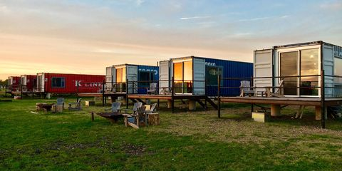 travel trends 2018: shipping container hotels