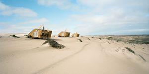 Shipwreck Lodge, Namibia - Portra 160 rated 125