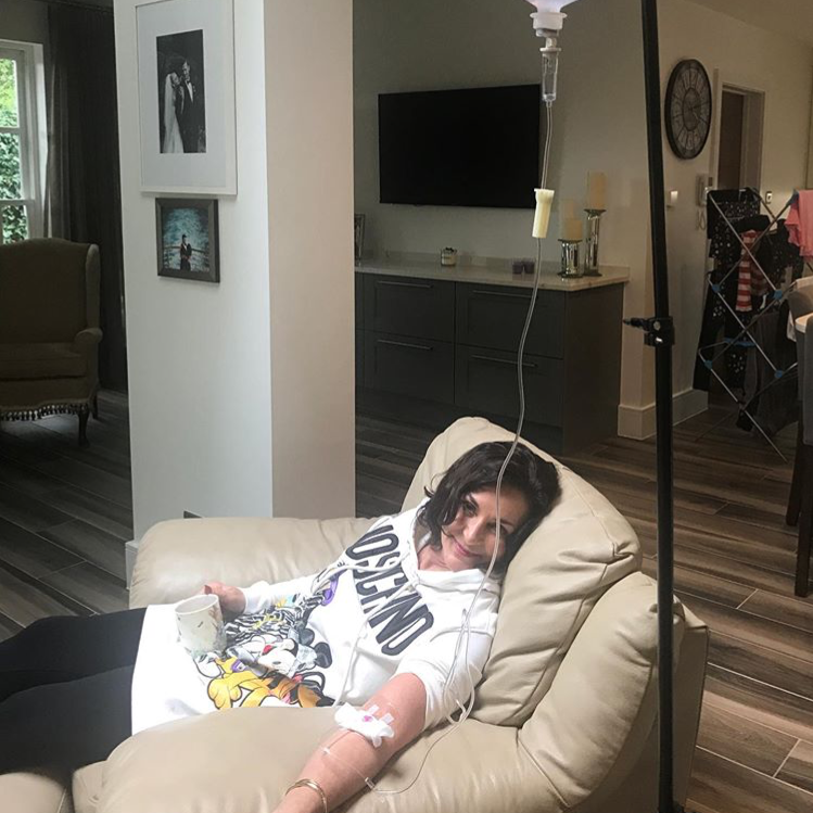 """Strictly Come Dancing's Shirley Ballas shares photos of herself on drip after a """"tough week"""""""