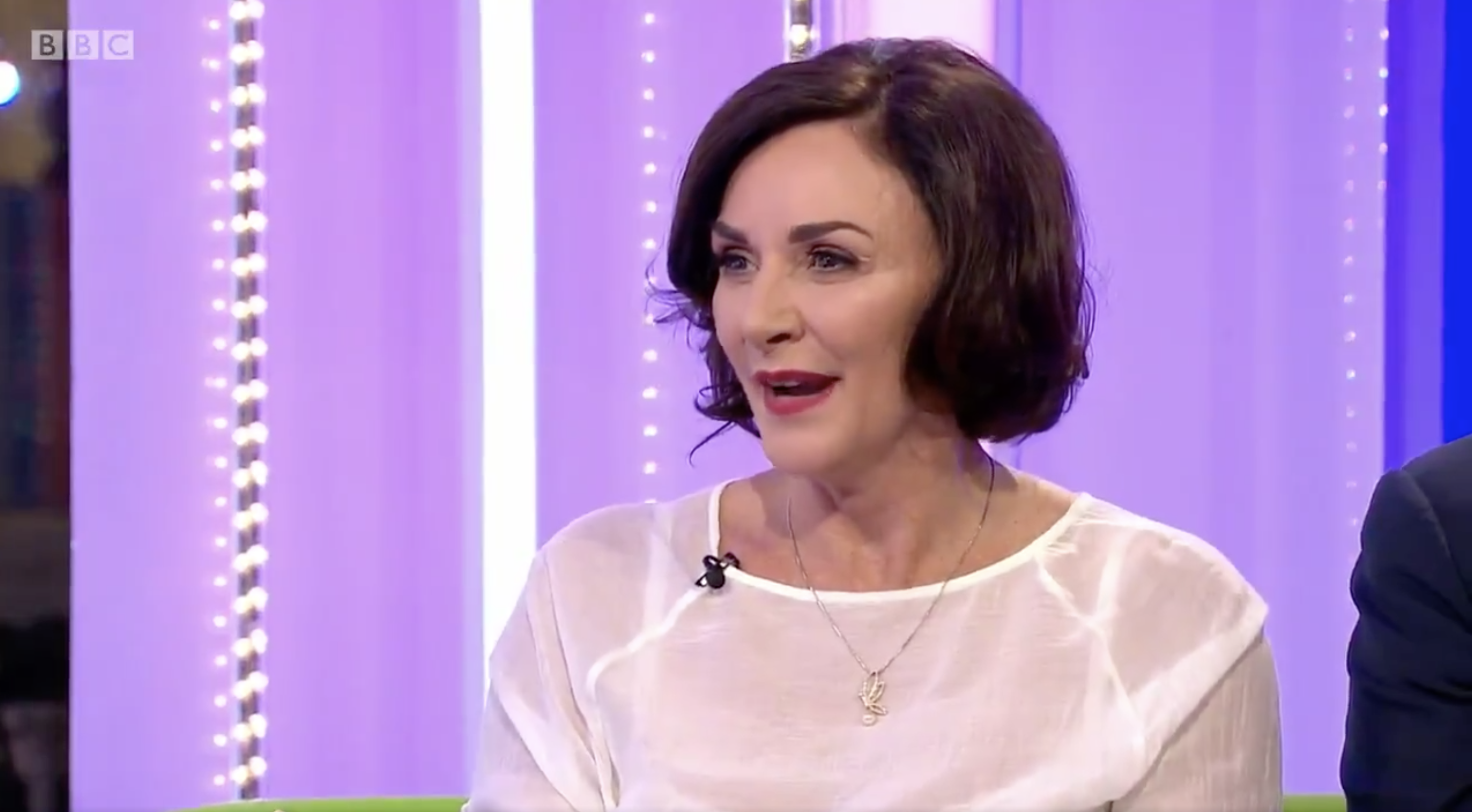 Strictly Come Dancing head judge Shirley Ballas reacts to Motsi Mabuse joining her panel