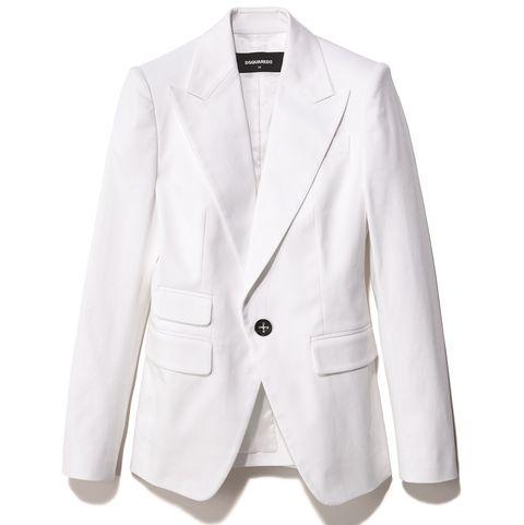 ディースクエアードの白ジャケット