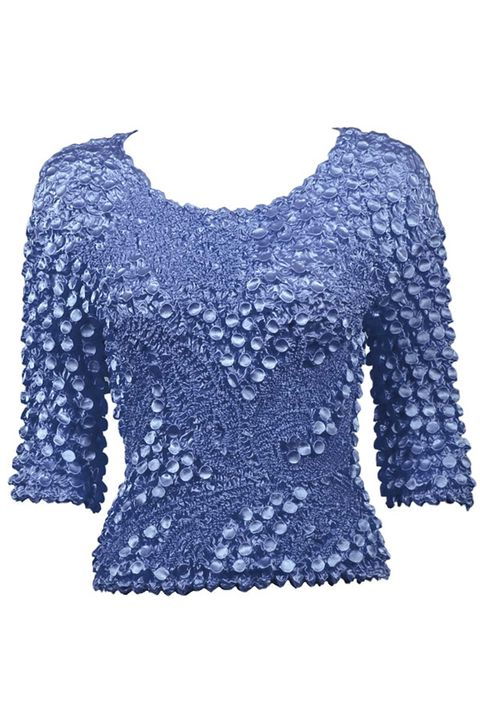 Blue, Sleeve, Pattern, Neck, Black, Electric blue, Cobalt blue, Creative arts, Top, Pattern,