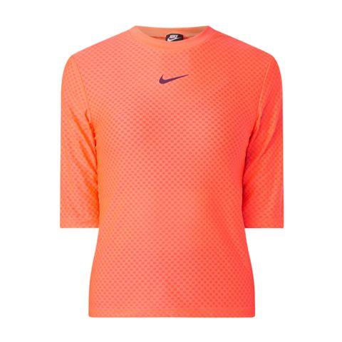 nike trainingsshirt neon oranje sportshirt damestop