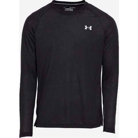 under armour longsleeve zwart hardloopshirt hardlooptop sportshirt