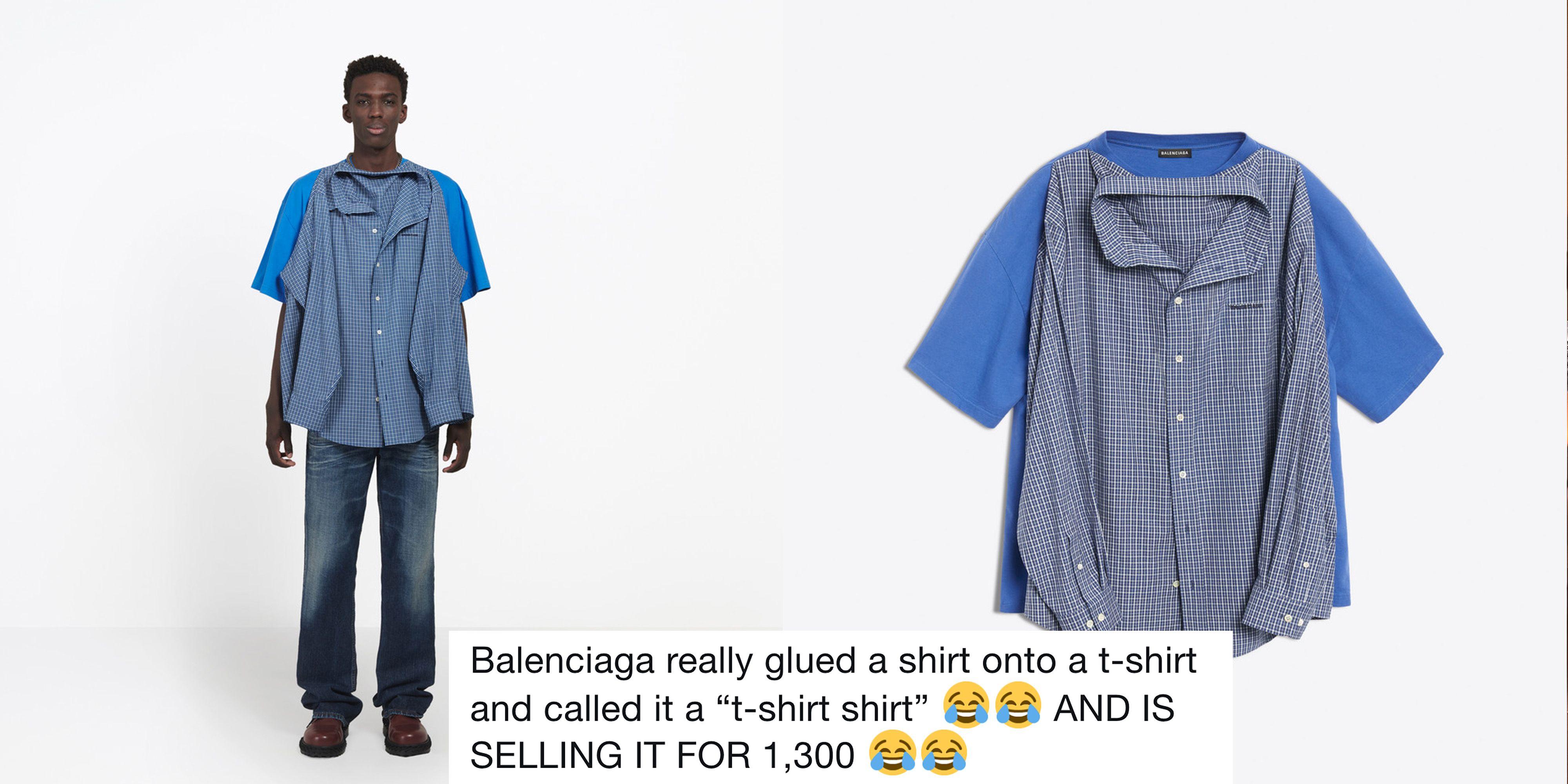 74100683b3d Balenciaga Shirt Twitter Reactions - Twitter Reactions to Weird Balenciaga  Shirt