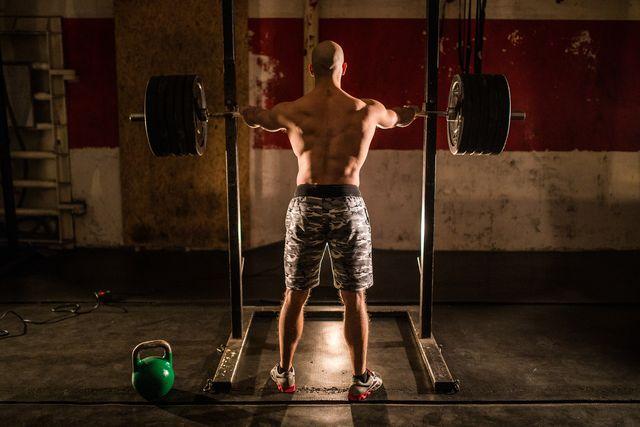 rack de entrenamiento