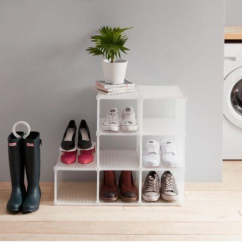 John Lewis & Partners - hallway storage