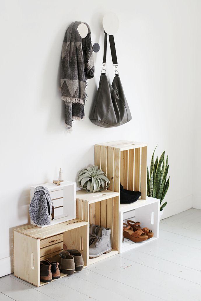foto de 20 Small Bedroom Storage Ideas - DIY Storage Ideas for Small Rooms