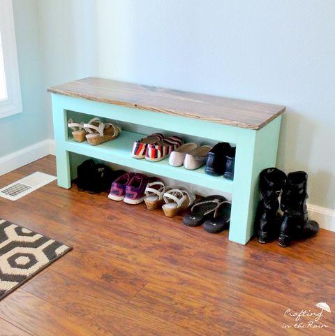 shoe racks bench