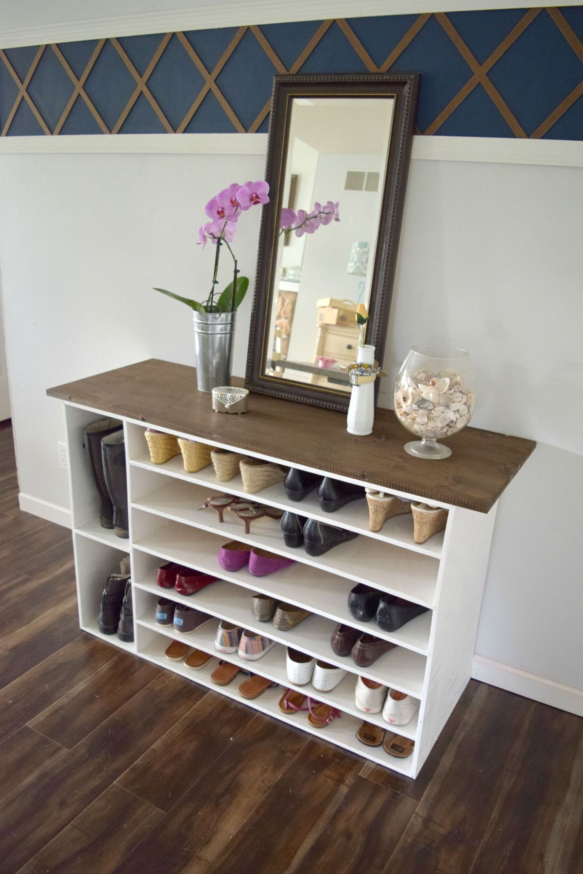 20 Diy Shoe Rack Ideas Best Homemade Shoe Rack Storage Ideas