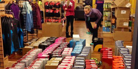Runner's World shoe testing