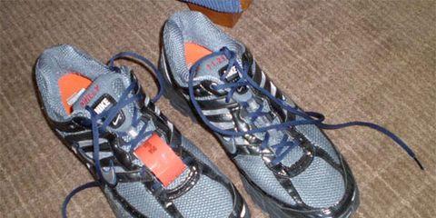 2008 Philadelphia Marathon custom shoes