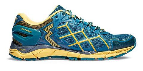 Footwear, Blue, Shoe, Product, Yellow, Sportswear, Athletic shoe, White, Aqua, Sneakers,