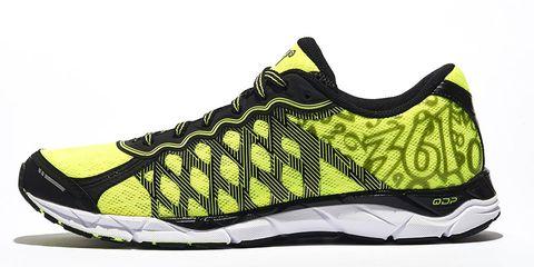 Footwear, Product, Yellow, Athletic shoe, Sportswear, White, Line, Sneakers, Logo, Carmine,
