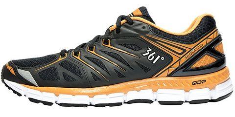 Footwear, Product, Brown, Shoe, Yellow, Sportswear, Athletic shoe, Orange, White, Sneakers,