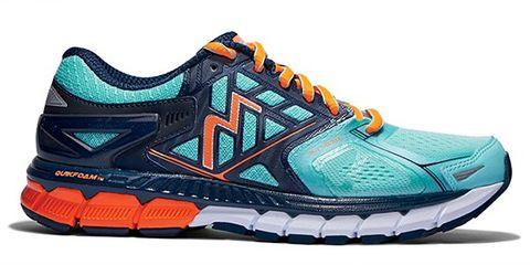 Footwear, Blue, Product, Shoe, Sportswear, Athletic shoe, White, Running shoe, Aqua, Teal,