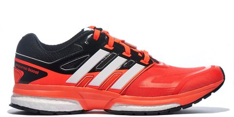 Footwear, Product, Shoe, Sportswear, Red, White, Orange, Athletic shoe, Sneakers, Logo,