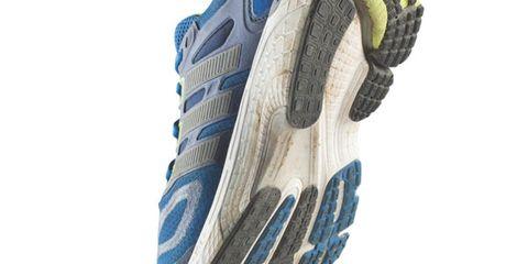 Running shoe, Athletic shoe, Azure, Grey, Sneakers, Outdoor shoe, Walking shoe, Cross training shoe, Tennis shoe,
