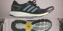 Footwear, Product, Yellow, Athletic shoe, Sportswear, White, Light, Logo, Carmine, Input device,