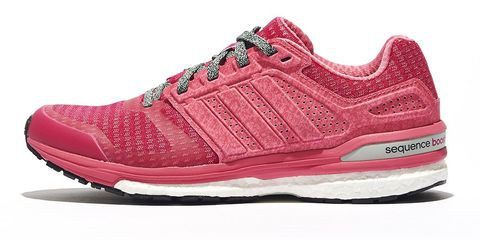 Footwear, Shoe, Product, White, Red, Magenta, Pink, Sneakers, Carmine, Athletic shoe,