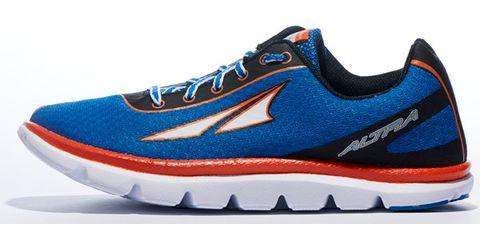 Footwear, Blue, Product, Shoe, Sportswear, Athletic shoe, White, Red, Line, Sneakers,