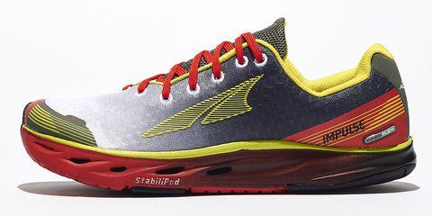 Footwear, Product, Shoe, Yellow, Sportswear, Athletic shoe, Red, White, Orange, Line,