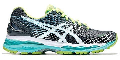 Footwear, Product, Green, Athletic shoe, Sportswear, White, Running shoe, Line, Logo, Aqua,