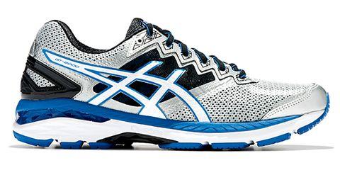 Footwear, Product, Blue, Shoe, Sportswear, Athletic shoe, White, Line, Sneakers, Running shoe,