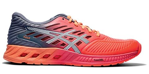 Footwear, Product, Shoe, Brown, Sportswear, Athletic shoe, Orange, White, Red, Line,