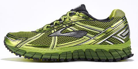 Footwear, Shoe, Product, Green, Yellow, Sportswear, Athletic shoe, White, Pattern, Line,