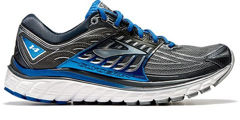 Footwear, Blue, Product, Athletic shoe, Sportswear, White, Line, Running shoe, Logo, Electric blue,