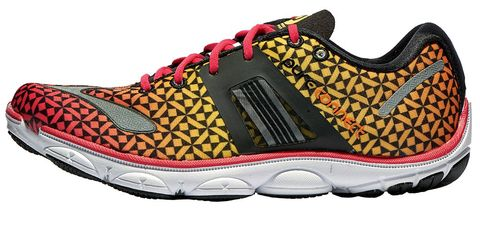Footwear, Product, Shoe, White, Orange, Pattern, Magenta, Font, Carmine, Fashion,