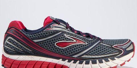 Footwear, Product, Shoe, Sportswear, Athletic shoe, Red, White, Line, Pattern, Sneakers,