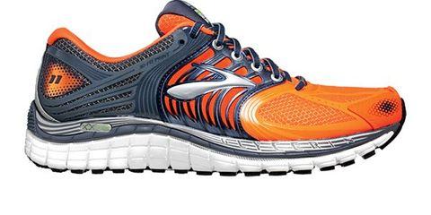 Footwear, Product, Shoe, Sportswear, Athletic shoe, Orange, White, Sneakers, Line, Logo,
