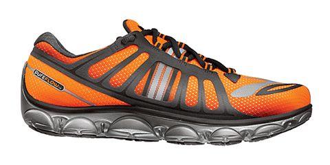 Footwear, Product, Shoe, Brown, Sportswear, Athletic shoe, Orange, White, Running shoe, Line,