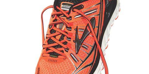 Product, Shoe, Sportswear, Athletic shoe, Orange, Red, White, Running shoe, Light, Sneakers,