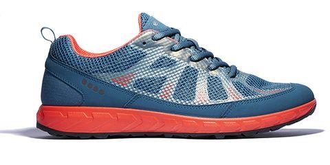 Footwear, Blue, Product, Shoe, White, Red, Sneakers, Sportswear, Line, Orange,