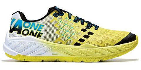 Product, Yellow, Sportswear, Shoe, Line, Sneakers, Athletic shoe, Logo, Aqua, Font,