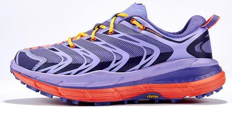 Footwear, Blue, Product, Athletic shoe, Running shoe, Orange, White, Sportswear, Purple, Line,