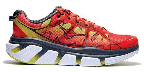 Footwear, Product, Shoe, Sportswear, Athletic shoe, White, Red, Line, Orange, Sneakers,