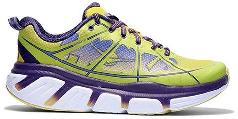 Footwear, Blue, Product, Shoe, Yellow, Sportswear, Athletic shoe, White, Purple, Line,