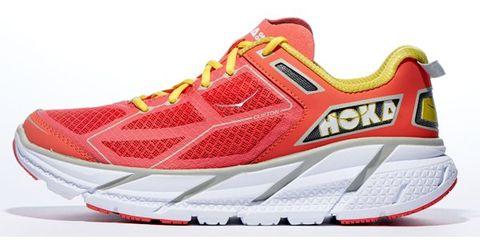 Footwear, Product, Shoe, Sportswear, Athletic shoe, White, Red, Orange, Line, Sneakers,