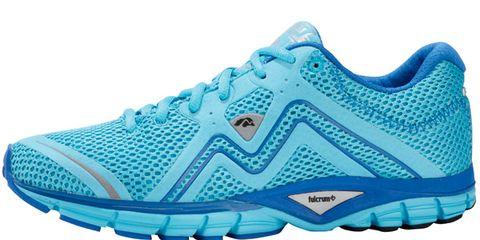 Footwear, Blue, Product, Shoe, Sportswear, Athletic shoe, Running shoe, White, Aqua, Teal,