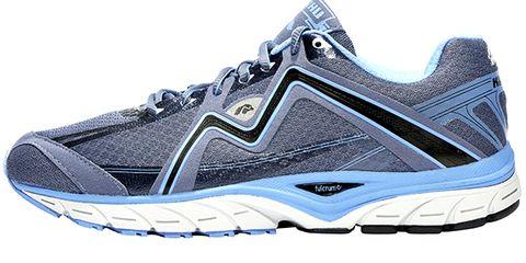 Footwear, Product, Athletic shoe, Sportswear, White, Line, Running shoe, Logo, Sneakers, Font,