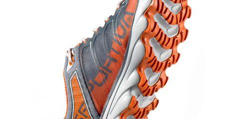 Orange, Carmine, Tan, Peach, Outdoor shoe, Sock, Boot,