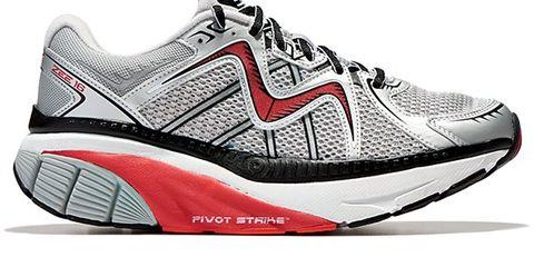 Footwear, Product, Shoe, Sportswear, Athletic shoe, White, Red, Line, Style, Sneakers,